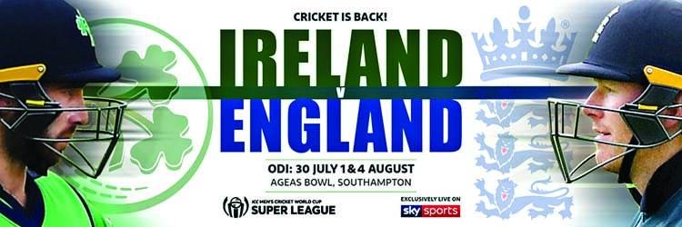 England to kick off ODI Super League against Ireland