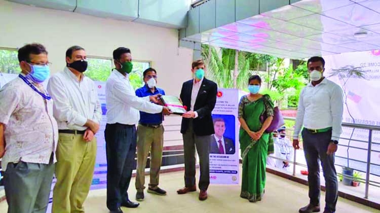 US provides 'Fast COVID-19 Testing Machines' to TB Hospital