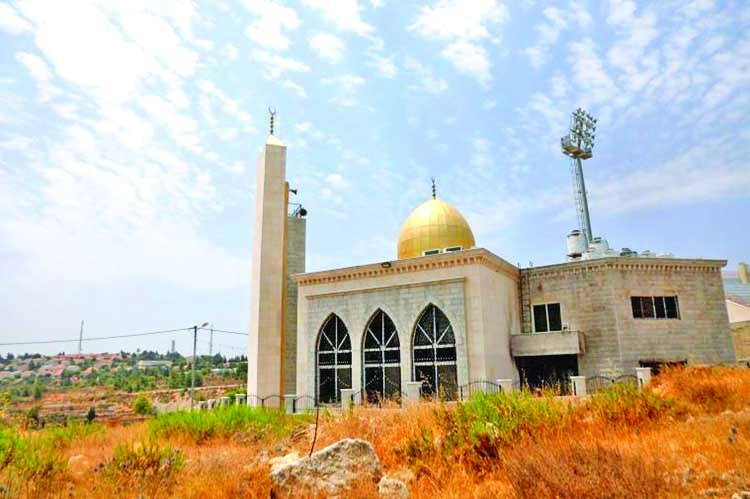 West Bank mosque damaged by arson