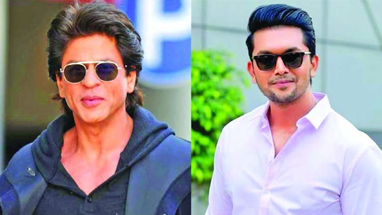 Shuvo to share screen with SRK in movie