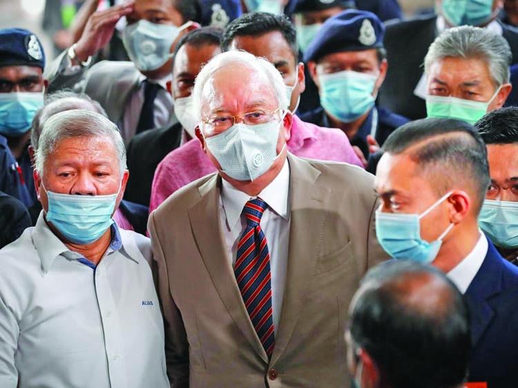 Ex-Malaysian PM Najib Razak jailed for 12 yrs