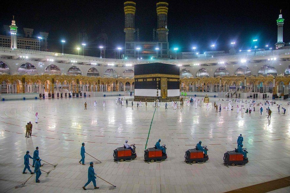 Scaled back Hajj pilgrimage due to start