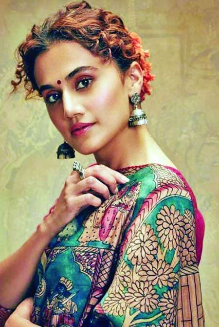 Taapsee's cryptic message for her enemies