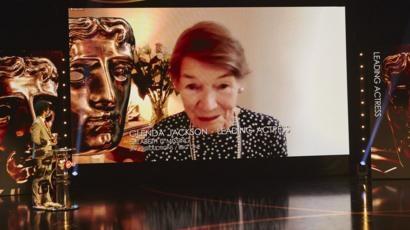 Glenda Jackson 'stunned' by Bafta TV triumph