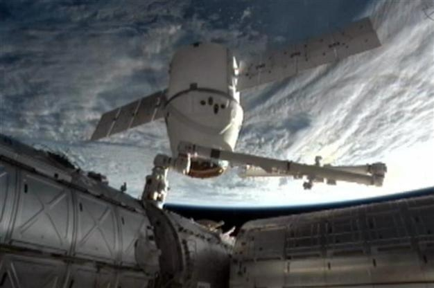 SpaceX craft departs Int'l Space Station for Earth