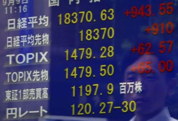 Japanese shares rise as investors bet on fresh US economic stimulus