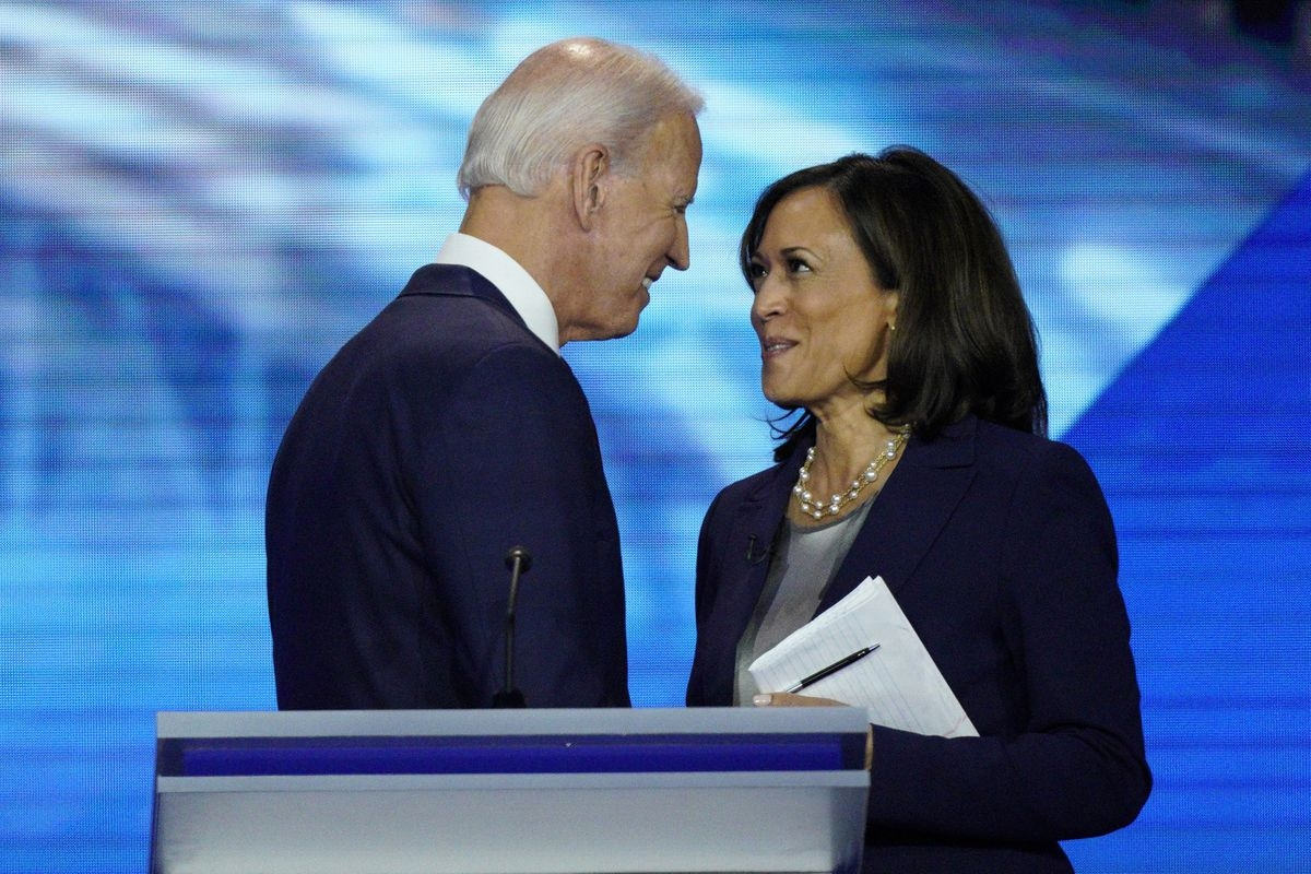 Joe Biden and Kamala Harris: Ex-VP and California senator are Democrats who will take on Trump and Pence