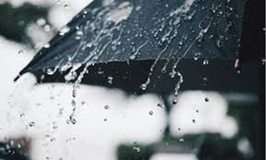 Met office forecasts light to moderate rain across country