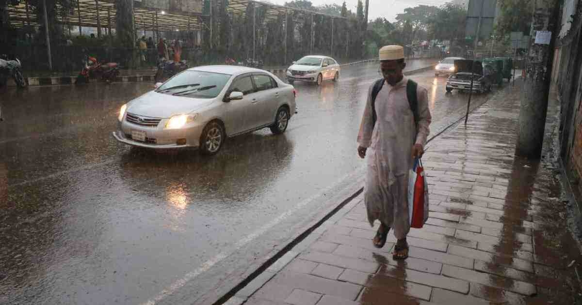 Rain likely to continue: Met Office