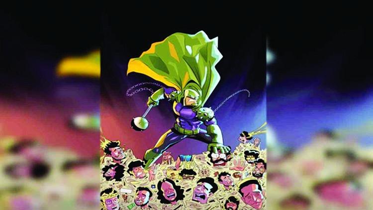 'Captain Kathal: Our very own vigilante superhero'