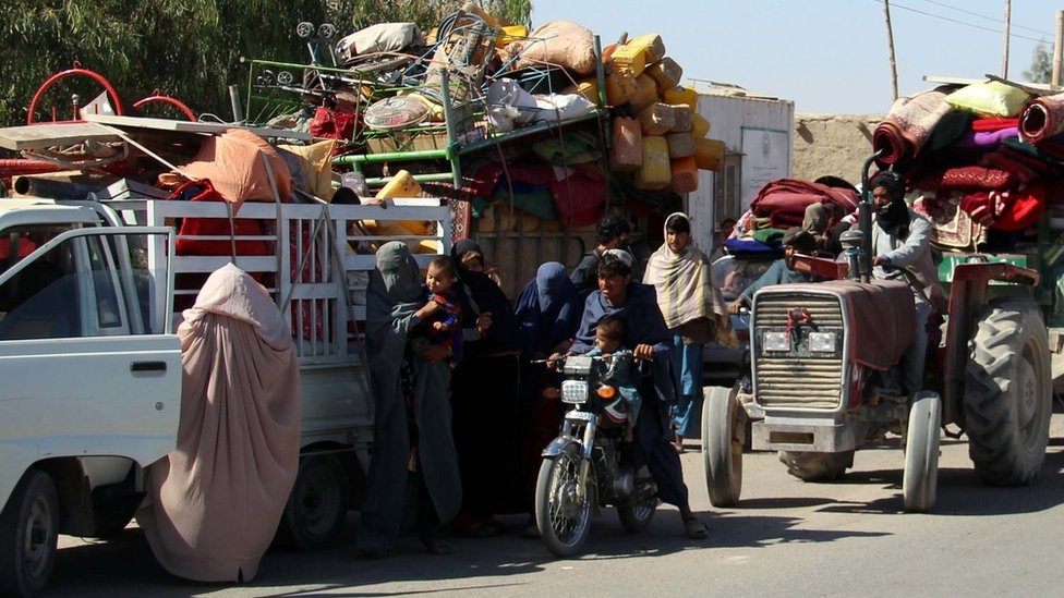 Fears for families trapped in Helmand fighting