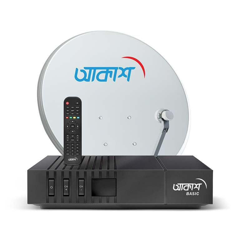 AKASH DTH offers basic connection package