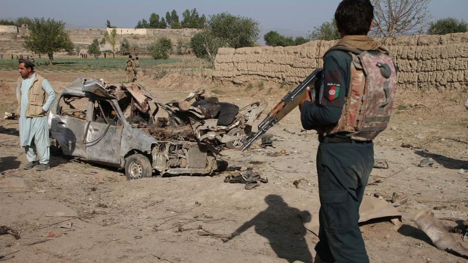 Suicide bomber kills 18, wounds 57 in Afghan capital