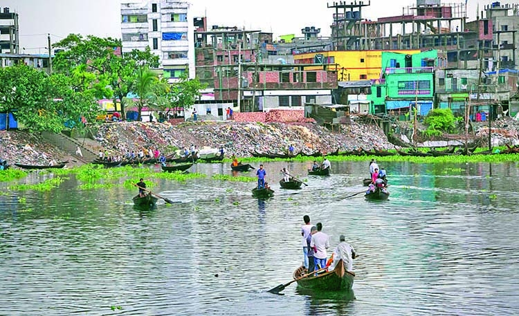 Tanneries shifted, but river pollution still unabated
