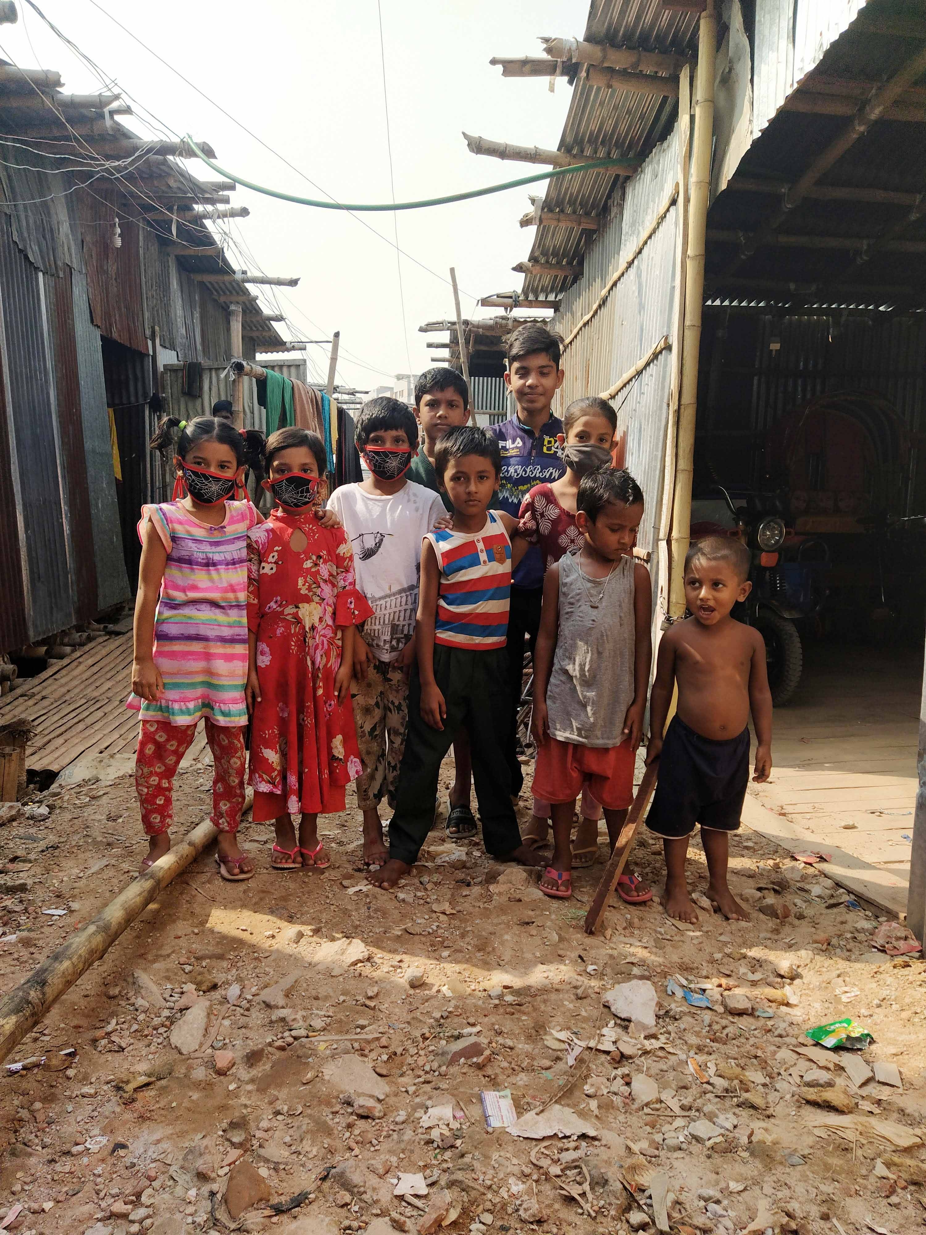 Slum dwellers: How are they passing pandemic days?