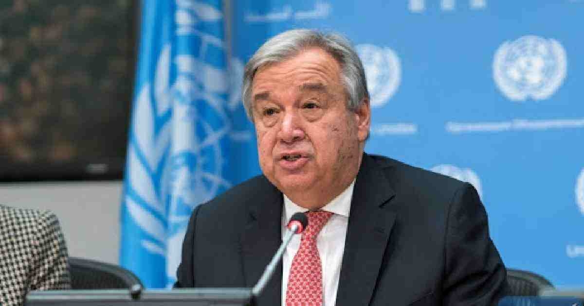 UN chief calls for rapid change in fight against climate disruption