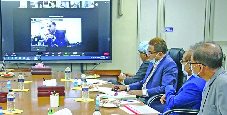 Sonali Bank holds meeting on CMSME stimulus package