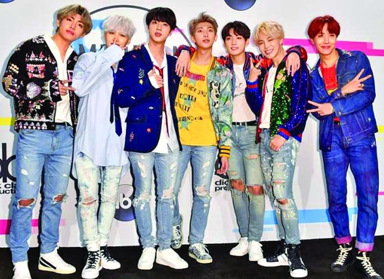BTS snags first ever Grammy nomination for a K-Pop band