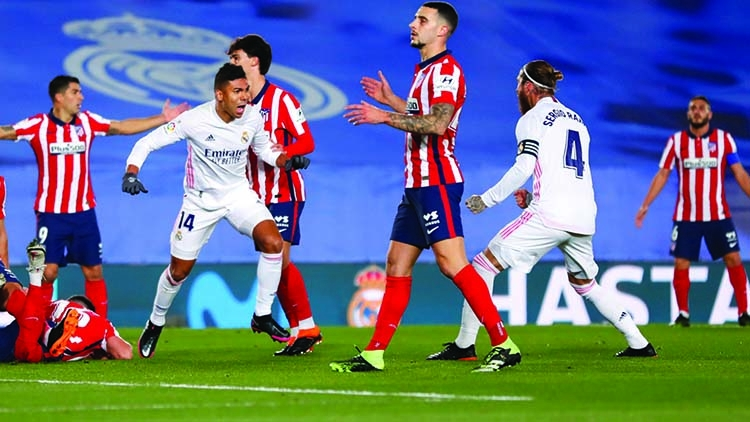 Real win Madrid derby to prove point to leaders Atletico | The Asian Age Online, Bangladesh