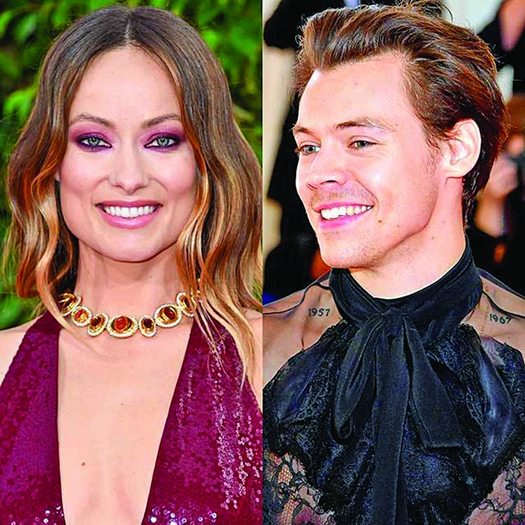 Olivia, Harry romance blooms