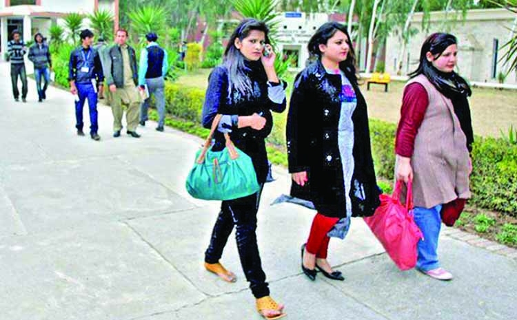 'Tight jeans, short shirts' banned in Pak varsity