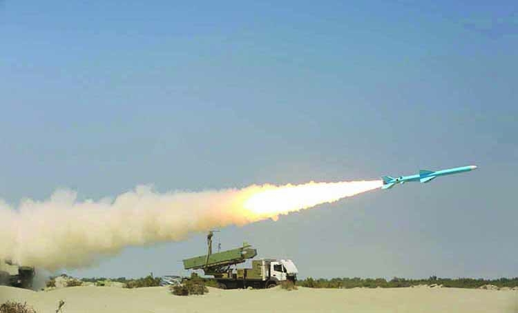 Iran launches missile drill