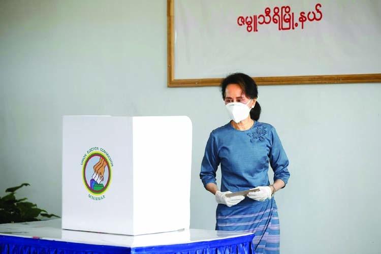 Democracy in Myanmar still under threat