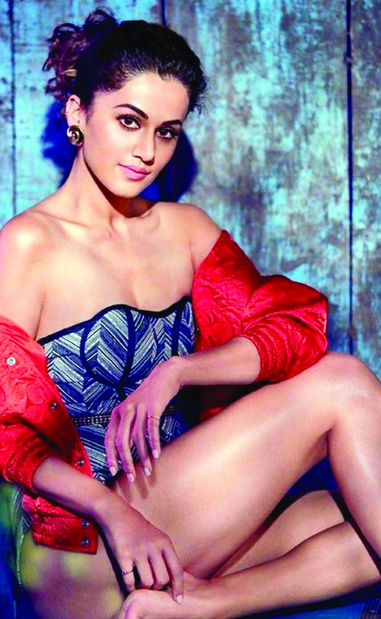Taapsee Pannu 'hitch-hikes' on last day of shoot for 'Rashmi Rocket'