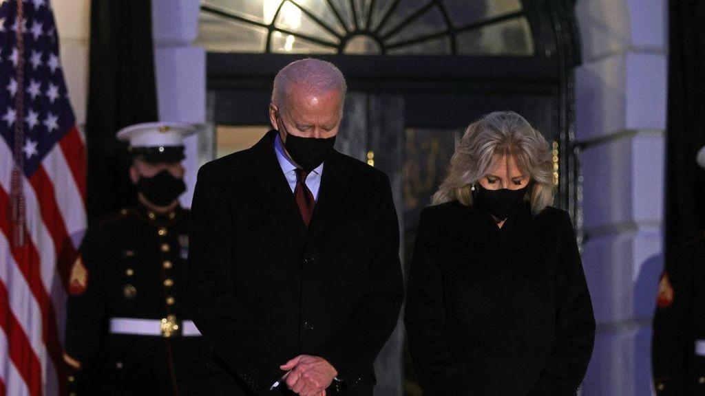 'Resist becoming numb to the sorrow' - Biden