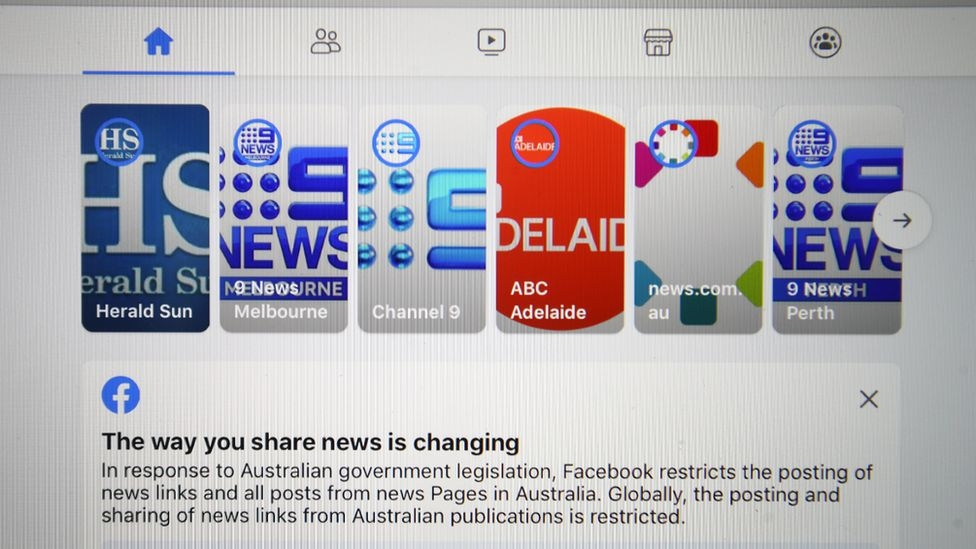 Australia passes law aimed at Google and Facebook