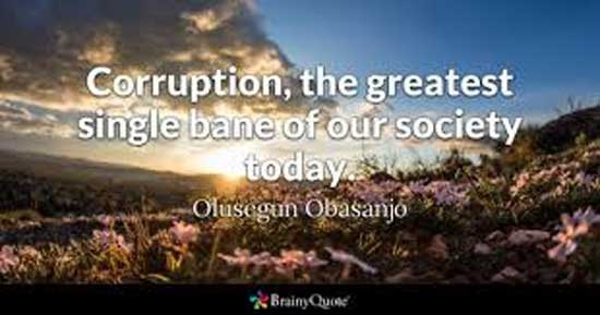 Corruption-the worst enemy of growth and development