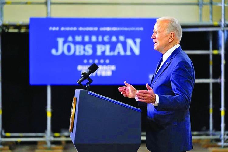 Bumpy road ahead for Biden's infrastructure plan
