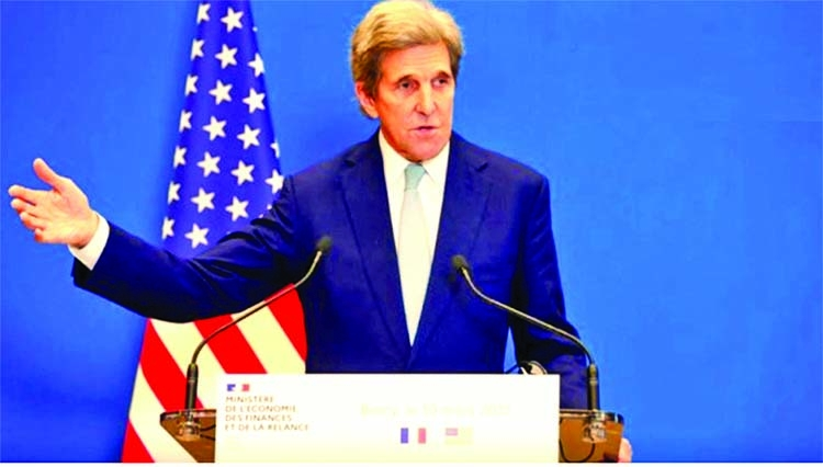 US envoy Kerry heads to India to try and lift 'climate ambition'