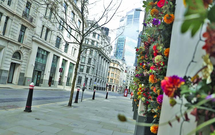 Beyond the Pandemic London's financial hub seeks a rebirth