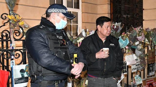 Myanmar ambassador to UK 'locked out' of embassy