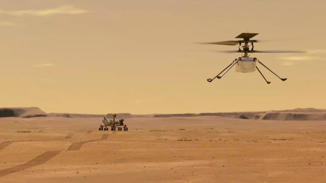 NASA aims for historic helicopter flight on Mars