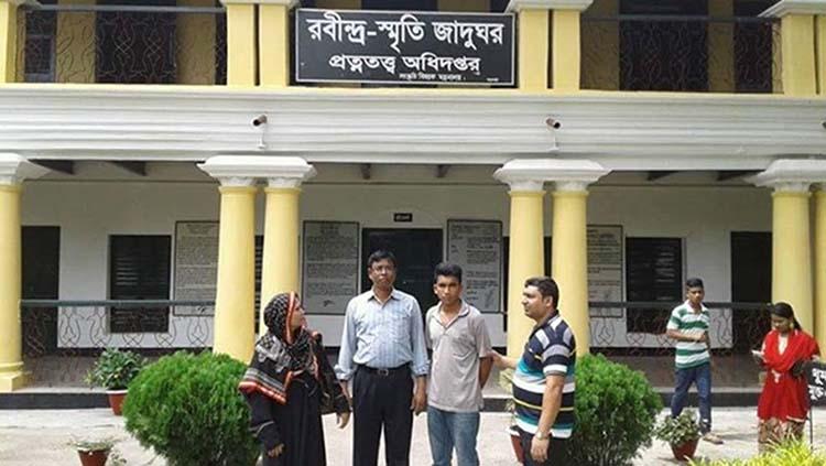 Zamidari house of Rabindranath Tagore