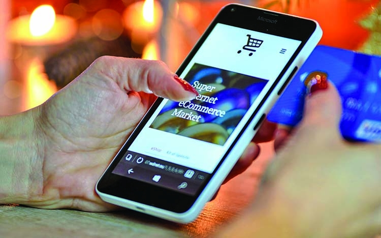 Pandemic boosted e-commerce in 2020