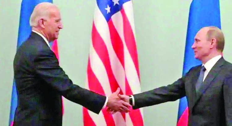 Biden says he is confident he can meet Russia's Putin soon