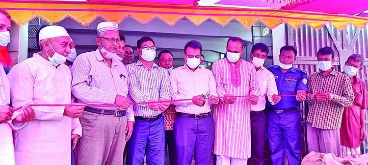 Boro rice procurement starts in Ashuganj