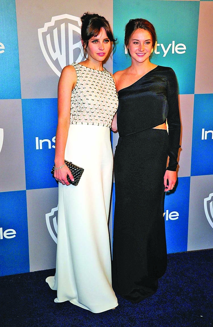 Shailene Woodley, Felicity Jones team up for Netflix romantic drama