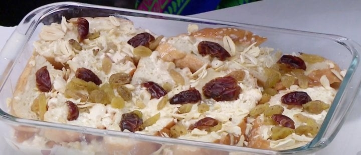 Delicious Eid desserts in microwave oven