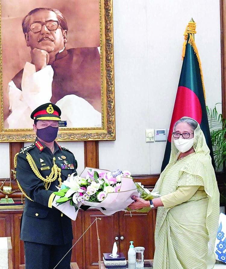 Gen Shafiuddin takes over as new army chief