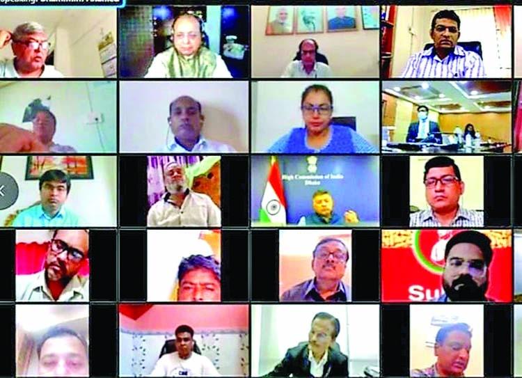 Virtual conference and India-Bangladesh trade fair held