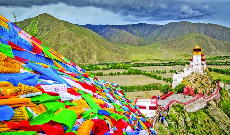 Scattered Among the Himalayas, Glimpses of a Changing Tibet
