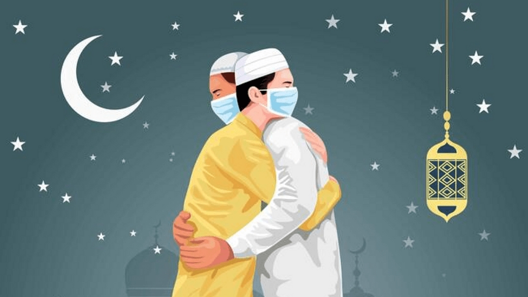 Prayers for pandemic relief on Eid day