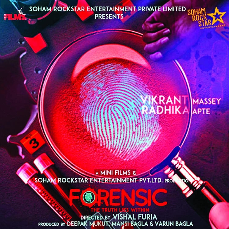 First look of Radhika Apte's thriller Forensic releases