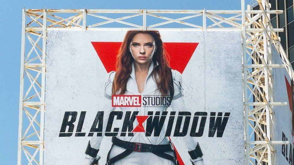 Scarlett Johansson sues Disney over streaming