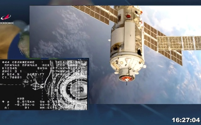 Space Station loses control after Russian module misfires