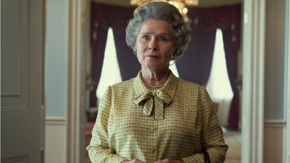 First look at Staunton as The Crown's new Queen
